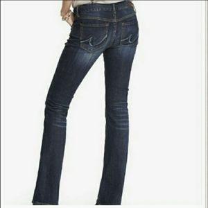 NWT express stella low rise boot cut jeans sz6